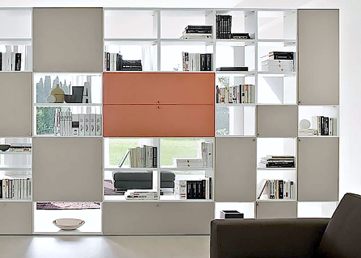 Arredamenti ferrari librerie su misura for Confalone arredamenti librerie